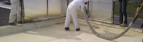 What is spray foam insulation?
