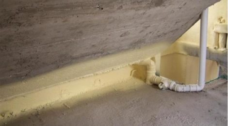 spray foam insulation polyurethane